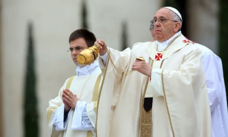 Pope Francis has endorsed an international organisation that conducts exorcisms.