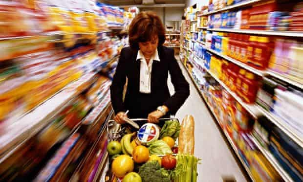 supermarket shopping - live better food prices