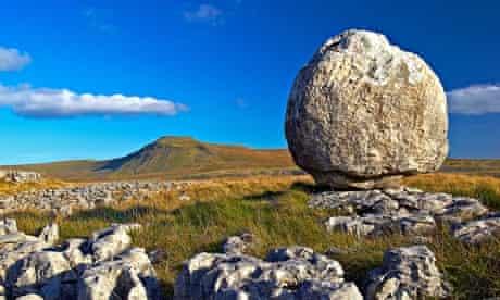 Stone on a mountain