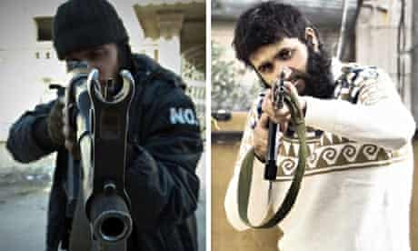 Syrian rebel fighters court case