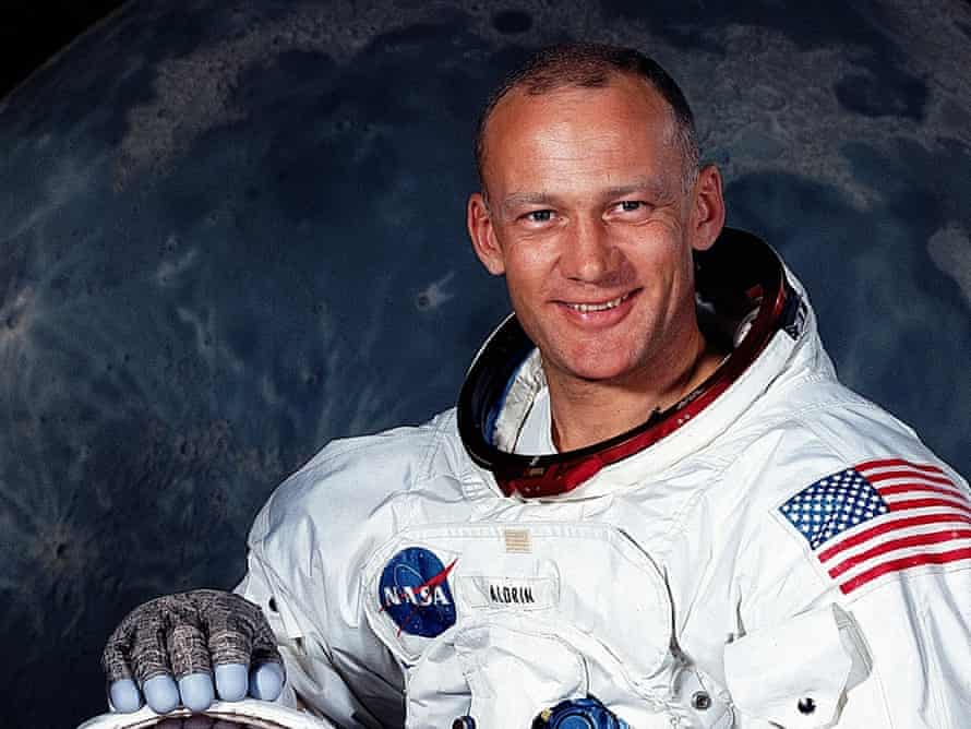 US astronaut Buzz Aldrin in 1969.