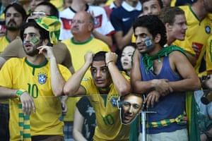 Brazilians in shock: Fans of Brazil react