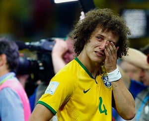Brazil mourns: It is all too much for David Luiz