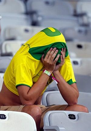 football: Brazil v Germany