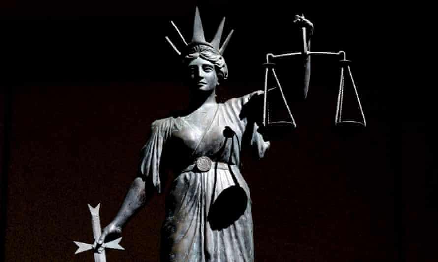 Greek god of justice