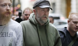 Kristian 'Varg' Vikernes, who was found guilty of inciting racial hatred and given a six-month suspended sentence by a French court.