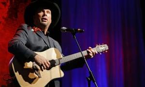 Garth Brooks performs in Nashville in 2012.