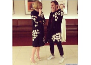 Anna Wintour and Marc Jacobs