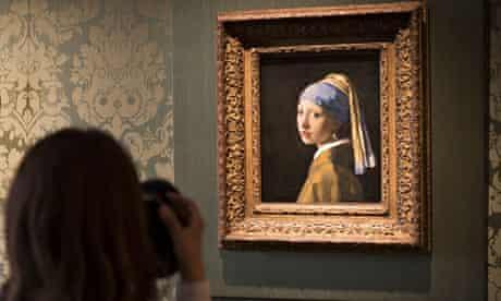 Mauritshuis Vermeer pearl