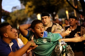 Mourning Brazil: unrest in Belo Horizonte, Brazil