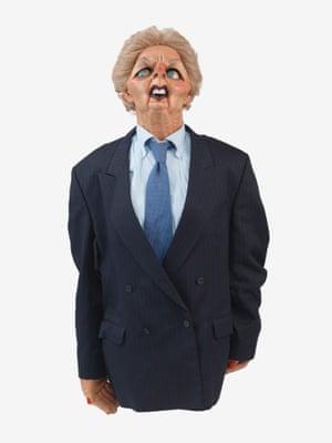 Margaret Thatcher Spitting Image Doll