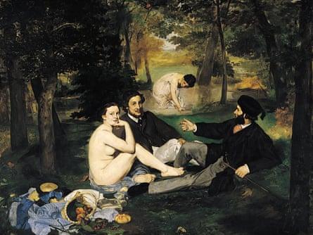 Dejeuner Sur l'Herbe, Édouard Manet, 1863