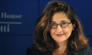 International Monetary Fund Deputy Managing Director Nemat Shafik, who joins the Bank of England next month.