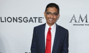 Dinesh D'Souza at the premiere of America.