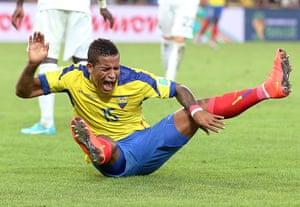 weird sport: Ecuador v France - FIFA World Cup Brazil 2014 - Group E