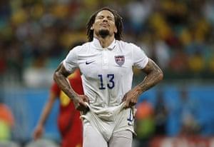 weird sport: US midfielder Jermaine Jones