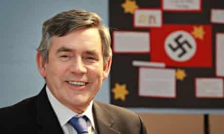 Gordon Brown and the swastika.