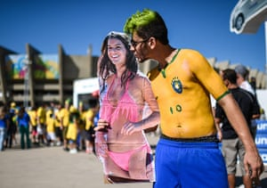 weird sport.: Brazil v Chile: Round of 16 - 2014 FIFA World Cup Brazil