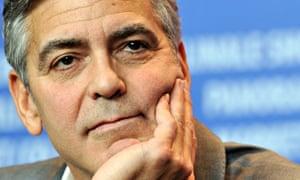 Clooney hand