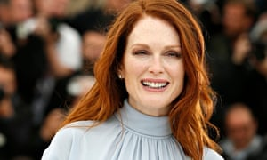 Julianne Moore and her lovely red hair.