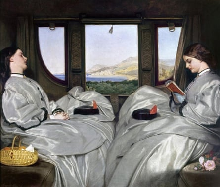 Augustus Leopold Egg: 'The Travelling Companions', 1862