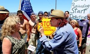 Immigration protest Murrieta