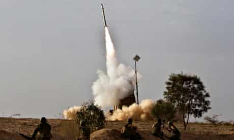 iron dome israel air defence missile