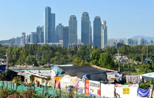 Guryong Village is known as the last shanty town in Gangnam, Seoul's wealthiest district.