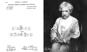 Celeb patents: Mark Twain patent