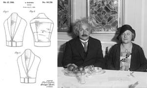 Celeb patents: Albert Einstein patent