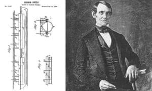 Celeb patents: Abraham Lincoln patent