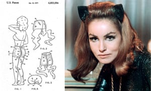 Celeb patents: Julie Newmar patent