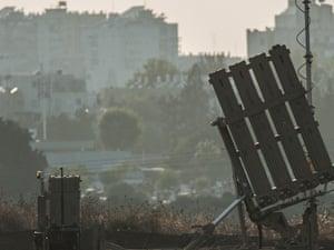 iron dome israel gaza palestine