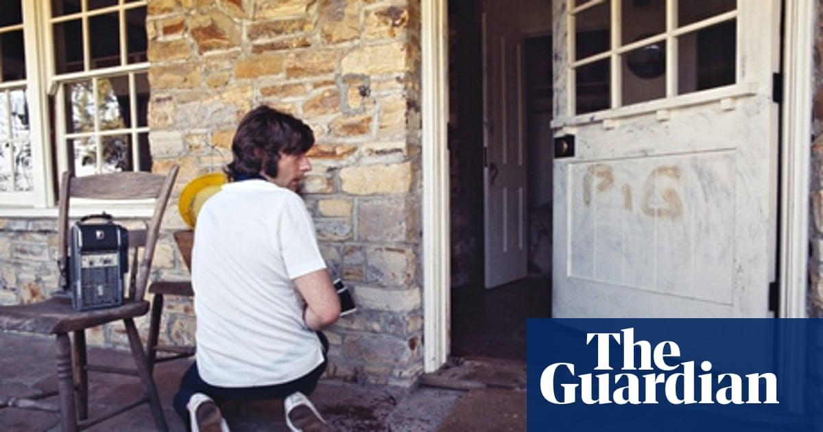 Julian Wasser's best shot: Roman Polanski at the scene of the Manson