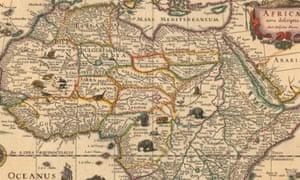 google maps Africa
