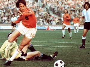 Cruyff v Argentina