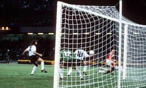 Diego Maradona, proving that everything is old hat and saving a shot on the line against the USSR at the 1990 World Cup, 20 years before anybody in Ghana had heard of Luis Suarez