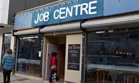 Job Centre bar in Deptford, London