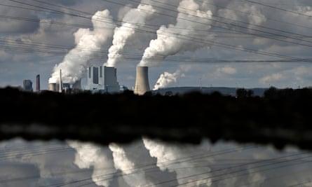 Power station belonging to German firm RWE