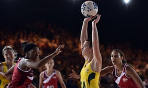 Full stretch: netball needs to expand beyond the Commonwealth countries such as England and Australia to make the Olympics.