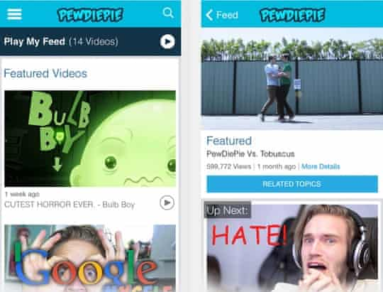 The official PewDiePie iPhone app.