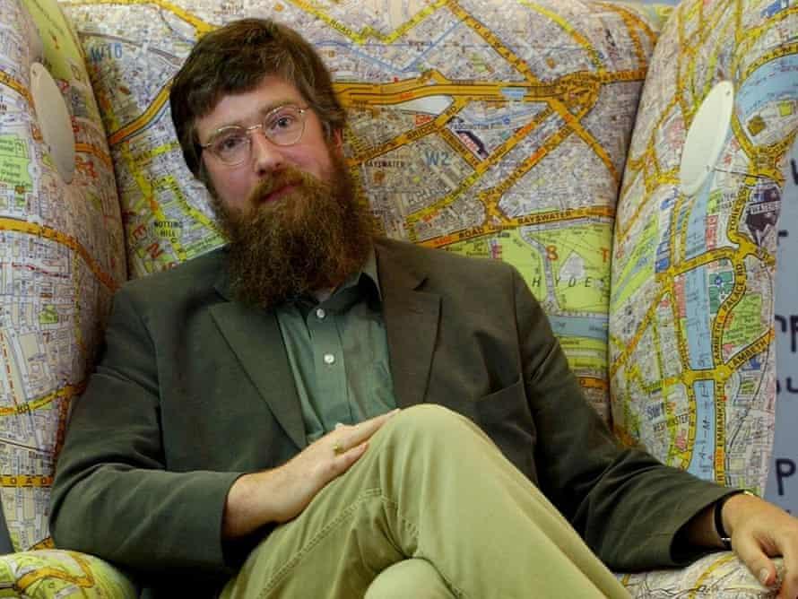 Philip Ardagh, Booktrust's new Writer in Residence.