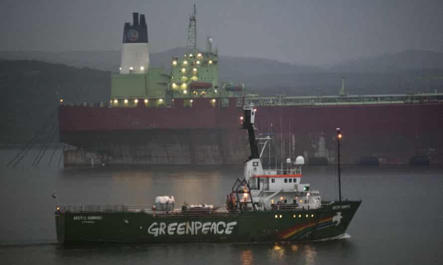 Greenpeace Arctic Sunrise leaves Murmansk on 1 August 2014
