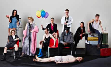 Lyric Hammersmith's Secret Theatre ensemble in A Series of Increasingly Impossible Acts