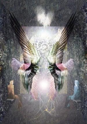 angel wings digital artwork