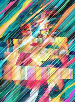 musical digital artwork
