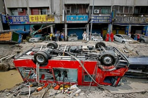 20 photos: Gas explosions in Taiwan