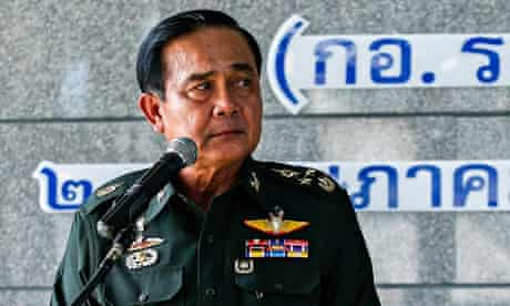 Thai army chief General Prayuth Chan-ocha unveiled plans connecting the country's northern border wi