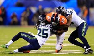 Richard Sherman tackle