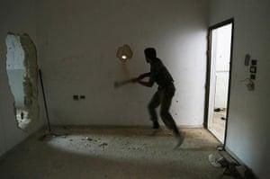 20 photos: A rebel fighter in Aleppo